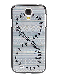 Number Eight Pattern Hard Case für Samsung Galaxy i9500 S4