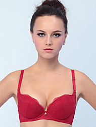 Balcony Bras , Push-up Cotton/Nylon/Spandex