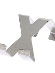 X-Shaped Stainless Steel Door Hook Max Load 3kg