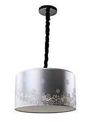 Rustic Chic 5 Lights Pendant In Silver Shape