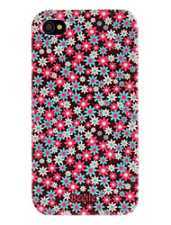 Beautiful Flowers Pattern Hard Case for iPhone 4/4S