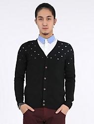 Men's Sweaters , Cotton Casual/Work MOGAO