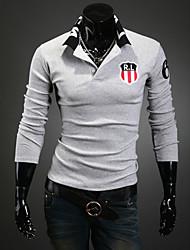 Lässige Sport Style Polo T-Shirt