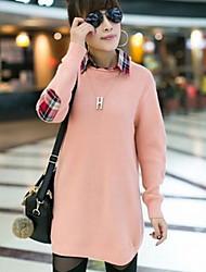 Женские свитера Проверить Сращивание