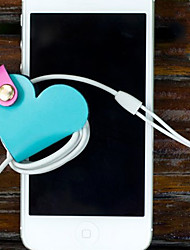 Cute Heart Design Tangled Lines Device