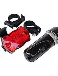 Front Bike Light / Rear Bike Light LED Cycling Waterproof / Backlight AAA Lumens Battery Cycling/Bike-Lights