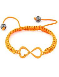 Erstaunlich Gestrickte Rope mit Perlen Damen Armband (weitere Farben)
