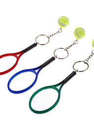 Style de Jeu Tennis Keychain (couleur aléatoire)
