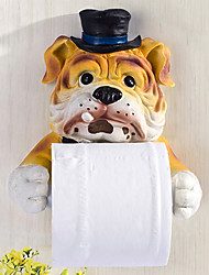 Gouvernante support de papier de chien