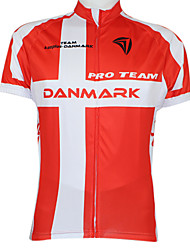 Kooplus Maillot de Cyclisme Femme Homme Unisexe Manches courtes Vélo Maillot Hauts/TopsSéchage rapide Pare-vent Zip étanche Zip frontal