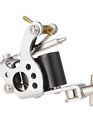 Steel Stamping Dual Coils 10 Wraps Tattoo Machine Gun for Shader