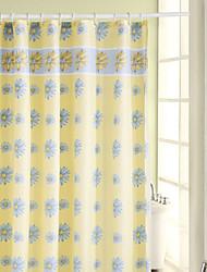 Orchid modèle étanche Polyester Renforcé Rideau de douche