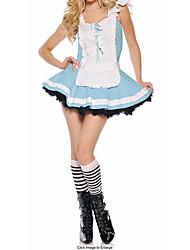Wonderful World Alice Blue Maid Costume