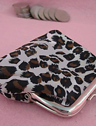 Moda bonito Leopard Wallet