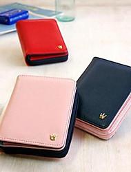 Moda Contraste Cor bonito Wallet