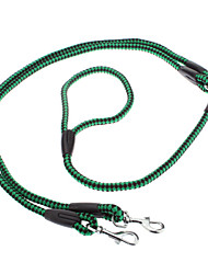 "2-in-1 Dual-color Knitting Style Nylon Leash for Pets Dogs (Assorted Colors, 120cm/47.2"")"