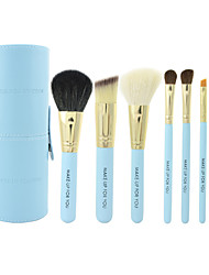 Make-up For You® 7pcs Goat/Pony/Horse hair Makeup Brushes set Portable/Limits bacteria  blue concealer/powder/blush brush eyeshadow/brow brush