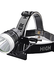 Lights LED Flashlights/Torch / Headlamps LED 1000 Lumens 4 Mode Cree XM-L T6 18650Camping/Hiking/Caving / Everyday Use / Cycling/Bike /