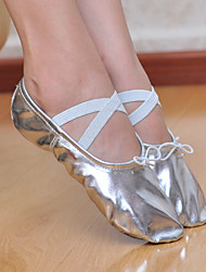 Chaussures de danse (Argent/Or) - Non personnalisable Similicuir - Ballet/Salle de bal