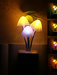 Mushroom variopinto a forma di LED Night Light