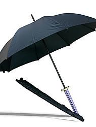 Zanpakutou Senbonzakura Preto Espada Samurai Umbrella