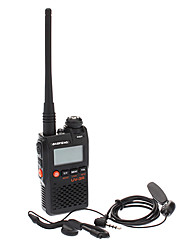 UV-3R Dual-Band de poche Two Way Radio Walkie Talkie