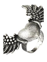 Fashion-Legierung mit Herz-Flügel Ring