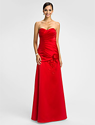 Dress - Ruby Trumpet/Mermaid Sweetheart Floor-length Satin