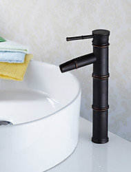 personalisierte Waschbecken Wasserhahn traditionellen Bambus-Stil Öl-rieb Bronze-Finish