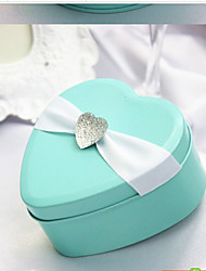 6 Piece/Set Favor Holder - Heart-shaped Favor Tins and Pails/Favor Boxes Non-personalised