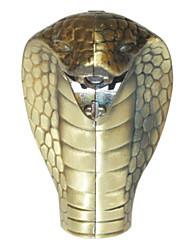 King Cobra vormige winddicht Blauw Frame butaan aansteker (willekeurige kleur)