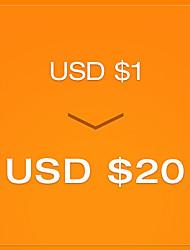 pagar R $ 1 para um cupom de US $ 20 - round3 (válido até 23 de dezembro para a ordem mais de US $ 150)