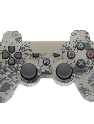 Grigio Camouflage Dual-Shock V4.0 Wireless Controller Bluetooth per PS3