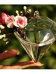 Table Centerpieces Hanging Diamond Glass Vase  Table Deocrations