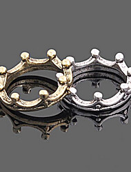 корейский старинные корона кольцо женской (случайный цвет)