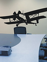 Airplane Transportation Wall Stickers