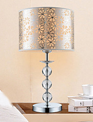 Modern Triple-Ball Crystal Table Lamp