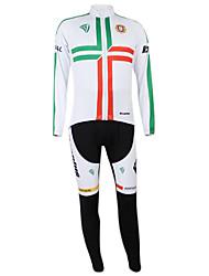 Kooplus2013 Campeonato Jersey Portugal poliéster e Lycra e tecido elástico Ciclismo Suits (camisa + Bib-calças)