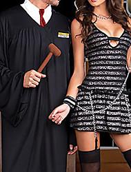 Costume juiz do tribunal Advogado Robe Homens de alta