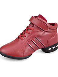 High Quality Leather Upper Women's Dance Sneakers(More Colors)