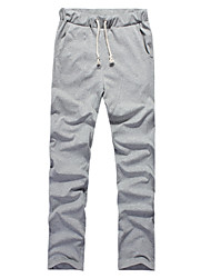 Fitspace Men's Casual Eleastic Long Pants Gray