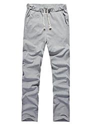 Fitspace Männer beiläufige eleastische Long Pants Grau