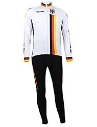 Kooplus2013 Championship Alemanha Jersey poliéster e Lycra e elástico Ciclismo Suits Tecido (camisa + calça)