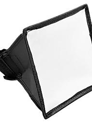 15x17cm Portable Flash Softbox Diffuser SpeedLight For Canon Nikon