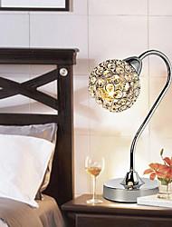 Modern Minimalist Crystal Table Lamp In Arc Arm 220-240V