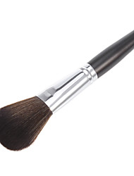 Burgundy Willow Wool Brush Head Cosmetic Brush
