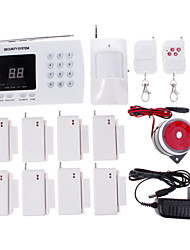 433MHz PSTN Sound Alarm Telephone Alarm Home Alarm Systems