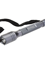 Romisen RC-2B4 Single-Mode Cree XR-E Q5 LED-Taschenlampe (200LM, 2xAAA, Grau)