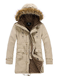Men's hoodie plush side hat thick coats