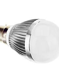 Ampoule Globe (Blanc froid Sol - 6 W- B22 AC 85-265